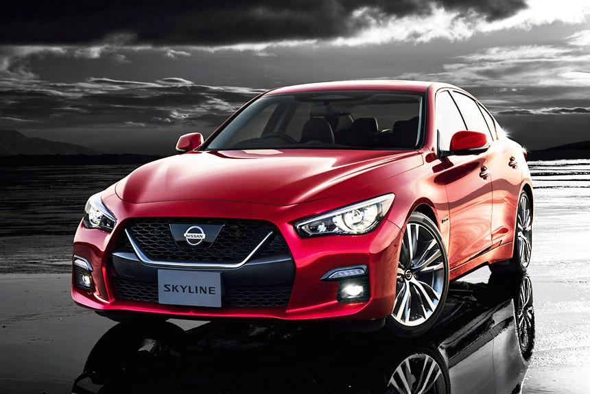 В Японии представлен обновленный Nissan Skyline