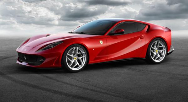 Ferrari 812 Superfast станет самым мощным серийным автомобилем компании