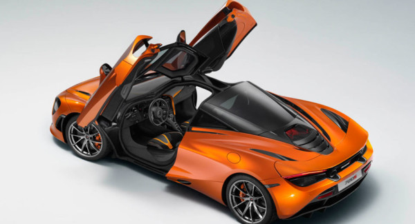 В «сеть» утекла фотография нового суперкара  McLaren 720S