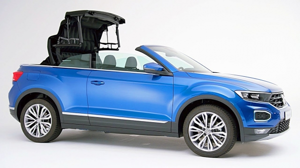 VW T-Roc Cabriolet (2020) Open-Top SUV