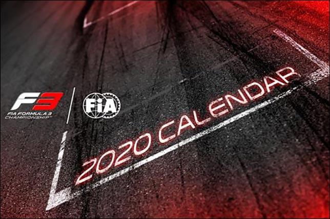 В календаре Формулы 3 на 2020-й – девять этапов