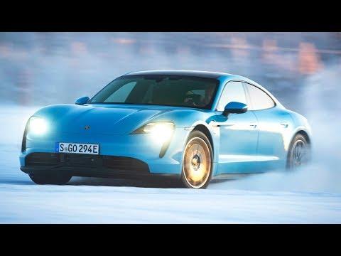 Porsche Taycan 4S – Snow Test Drive – Best Electric Car 2020?