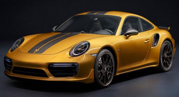 Porsche представила эксклюзивную серию 911 Turbo S