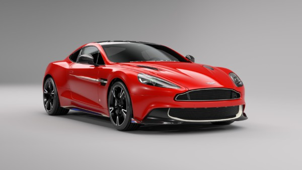 Aston Martin представили Vanquish S в красном