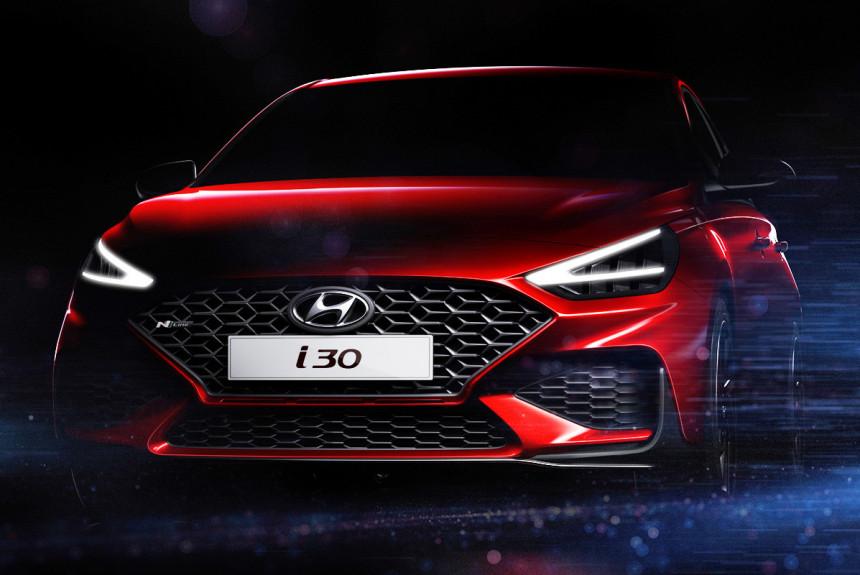 Семейство Hyundai i30 готовится к обновлению
