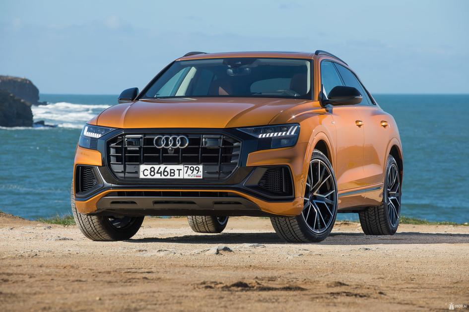 Тест-драйв Audi Q8: купейный детонатор