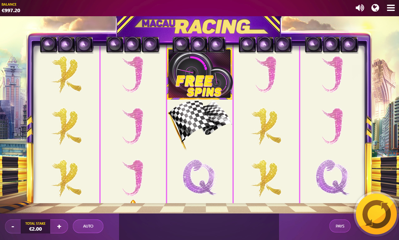 Macau Racing: обзор игрового автомата