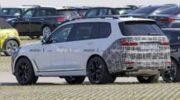 BMW вывел на тесты обновленную версию кроссовера X7 — «Автоновости»