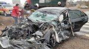 На Запорожье два человека погибли при столкновении легковушки и грузовика — «ДТП»