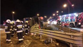 ДТП с украинским автобусом в Польше: скончался еще один пострадавший — «ДТП»