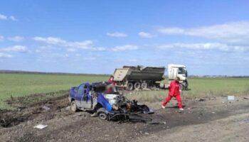 На Николаевщине в ДТП погибли пассажиры такси — «ДТП»