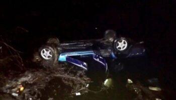 На Черкасчине авто упало в пруд, трое погибших — «ДТП»