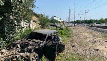 В Крыму пассажирский поезд протаранил автомобиль — «ДТП»