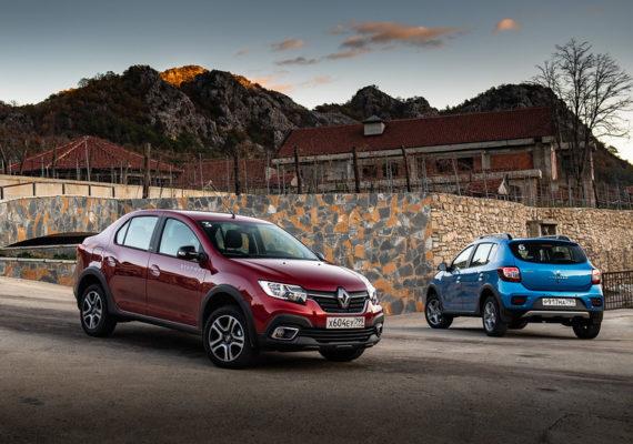 Тест-драйв Renault Logan/Sandero Stepway: с обвесом и вариатором