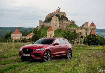 Тест-драйв Jaguar F-Pace: от Трансфагараша до Контиолахти