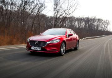 Тест-драйв Mazda 6 2.5 turbo: мощно, зрело, элегантно